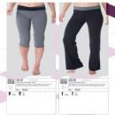 Pantalone 3/4 donna sport KS137 Pantalone donna sport KS136
