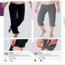 Pantalone donna fitness KS130 Pantalone 3/4 donna fitness KS131