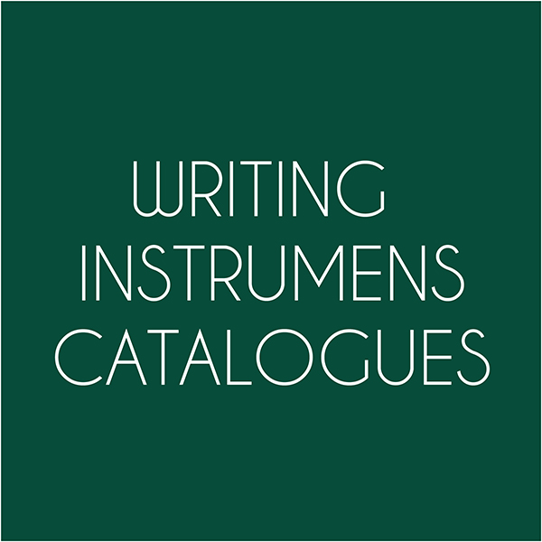 writing instruments catalogues